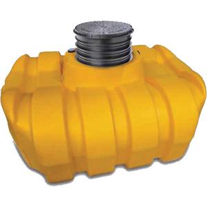 1500 litre low profile underground tank