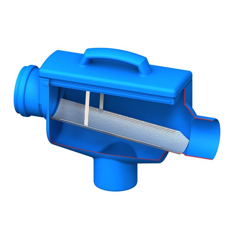 Horizon filter cutaway