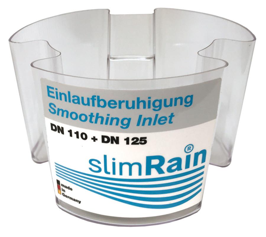 slimRain calmed inlet fitting for 110mm pipe