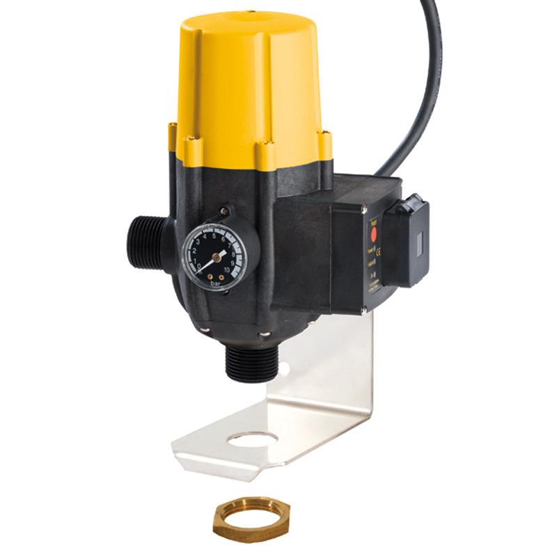 Zeta pump controller with bracket