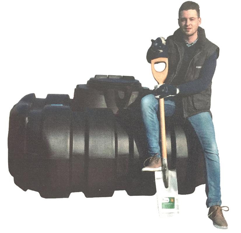 Easy-rain tanks are easy to install